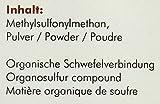 manako MSM (Methylsulfonylmethan) kristallines Pulver, Premiumqualität, 99,9% rein, 1000 g Dose (1 x 1 kg)