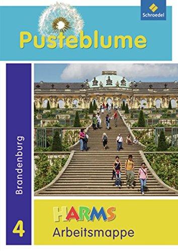 Pusteblume. Das Sachbuch - Ausgabe 2010 für Berlin, Brandenburg und Mecklenburg-Vorpommern: Arbeitsmappe 4 Brandenburg + FIT MIT