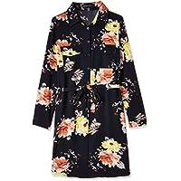 ميلا لندن فستان فستان بنمط قميص للنساء ، مقاس 8 UK ، كحلي ، ML4936