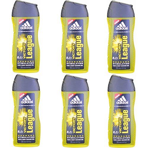 6 x Adidas Victory League Duschgel
