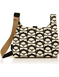 Orla Kiely Charcoal Spring Bloom Mini Sling Bag