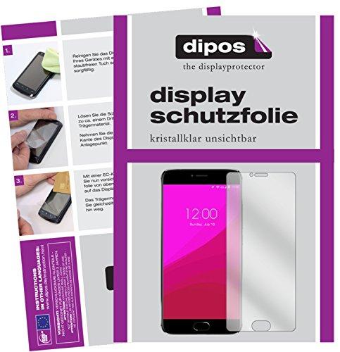 dipos I 2X Schutzfolie klar passend für Umidigi Z1 Pro Folie Displayschutzfolie