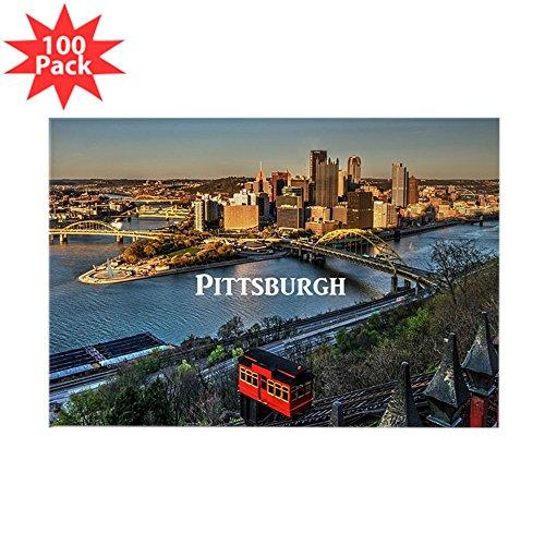 CafePress-Pittsburgh-Rechteck Magnet (100Pack)