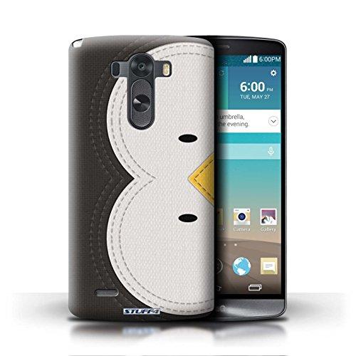 Kobalt® Imprimé Etui / Coque pour LG G3/D850/D855 / Cochon conception / Série Cousu des Animaux Effet Manchot