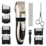 Best Dog Clippers Sets - Dog Clippers Cordless TOPOP Rechargeable Pet Grooming Clippers Review
