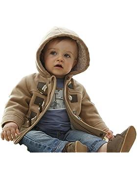MissChild Baby Kinder Jungen Wintermantel mit Kapuze Steppjacke Winter Herbst Hooded Oberbekleidung Warm Fleece...