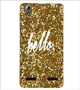 PrintDhaba Hello D-1105 Back Case Cover for LENOVO A6000 (Multi-Coloured)