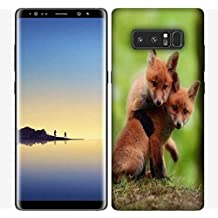 Snoogg Babies Fox Designer Protective Phone Back Case Cover for Samsung Galaxy Note 8