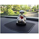 #3: Ramanta® Cute Car Accessories Interior Toys Ornament Bobblehead for Car Decoration Air Freshener Heart Shaking Doll Solid Perfume for Honda Accord, Pack of 1