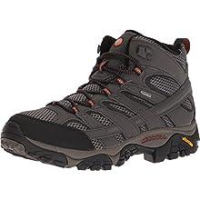 Merrell Men's Moab 2 Mid Gore-Tex' High Rise Hiking Shoes, Grey (Beluga), 8.5 UK