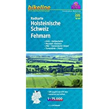 Bikeline Radkarte Holsteinische Schweiz, Fehmann (SH05). Eutin, Heiligenhafen, Neustadt (Holstein), Plön, Timmendorfer Strand, Travemünde, Preetz , 1 : 75 000, mit UTM-Netz, wasserfest/reißfest