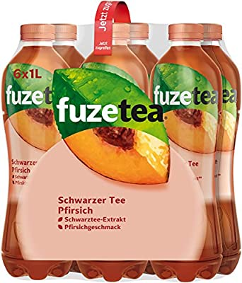 Fuze Tea Pfirsich Einweg, 6er Pack (6 x 1 l)