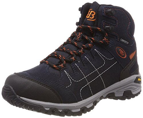 Bruetting Herren Mount Shasta High Trekking-& Wanderstiefel, Blau Marine/Orange, 42 EU