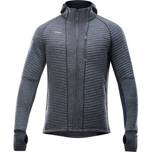 Devold Tinden Spacer Jacket Men - Thermo Fleecejacke aus Merino anthracite