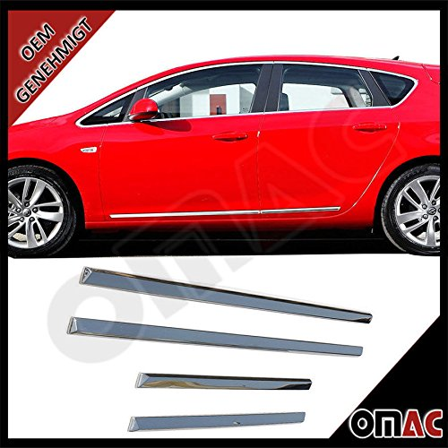 ford-focus-3-pour-opel-astra-j-chevrolet-aveo-chrome-barres-laterales-porte-acier-inoxydable-n2