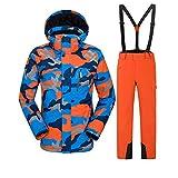 Gski Homme Veste & Pantalons De Ski Chaud, Protection Contre Les Surcharges, Sports...