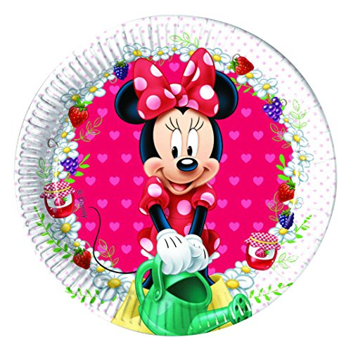 Disney Minnie Maus Party-Teller, 20 cm, -