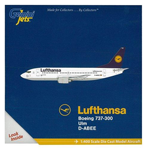gemini-jets-gjdlh1326-lufthansa-boeing-737-300-ulm-d-abee-1400-diecast-model