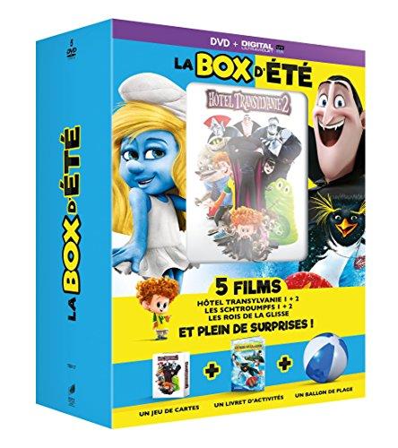 La Box d'été - 5 films: Hôtel Transylvanie 1 + 2 - Les Schtroumpfs 1 + 2 - Les rois de la glisse [+ Goodies]