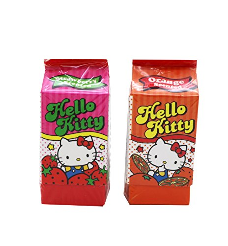 hello-kitty-sanrio-new-scented-colorful-juice-container-eraser-set-of-2-different-fragrances-strawbe