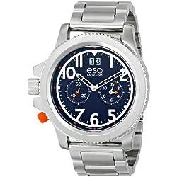 ESQ Movado Men's 07301424 esq Fusion Round Multi-Eye Watch