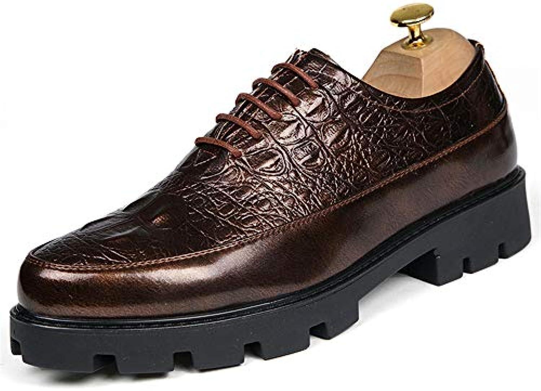 Xiaojuan scarpe, Scarpe da uomo Hight Heel Full Steal 6.0cm