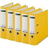 10er Pack Leitz 1080 Qualit/äts-Ordner breit mit patentierter 180/º-Pr/äzisionsmechanik schwarz