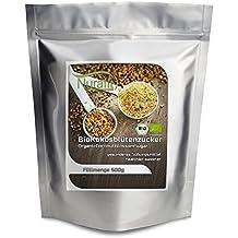 nurafit bio Coco Flores Azúcar, Azúcar Natural para certificados de punta | con alto contenido en Nutrientes | Calidad