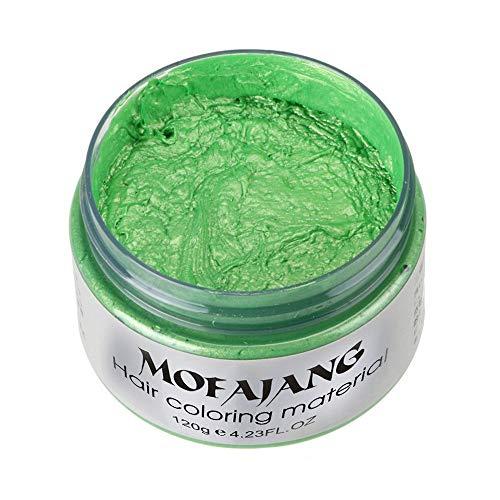 Arteki 7 Colors Instant Hair Wax Unisex DIY Hair Color Wax Mud Dye Cream Temporary Modeling -