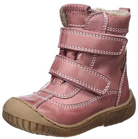 Bisgaard Unisex-Kinder Klettstiefel Schneestiefel, Pink (700 Rose), 35 EU