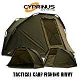 Cyprinus 2 Man Mongoose Carp Fishing Bivvy Shelter Tent