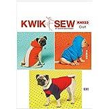 Kwik Sew Patterns K4033 - Patrones de abrigos para perro (tallas XS: 21-