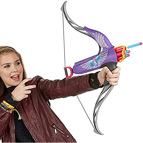 Nerf Rebelle, Hasbro Arc Strongheart, tire 4dardos de una longitud de 22metros
