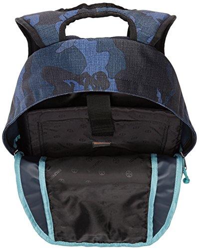 Brunotti Bb5133 Herren Umhängetaschen 29x51x14 Cm (bxhxt) Blau (camo Navy 517)