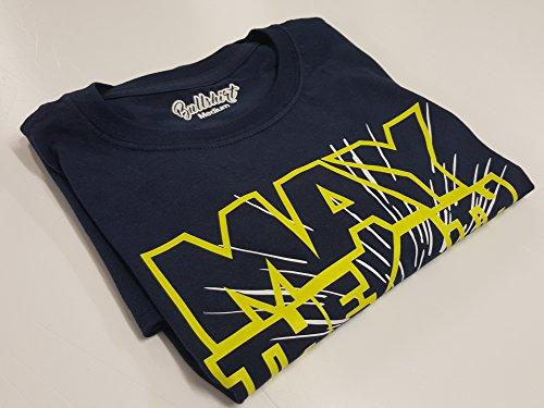 Bullshirt 's Herren 's May The 4. Be With You T-Shirt marineblau