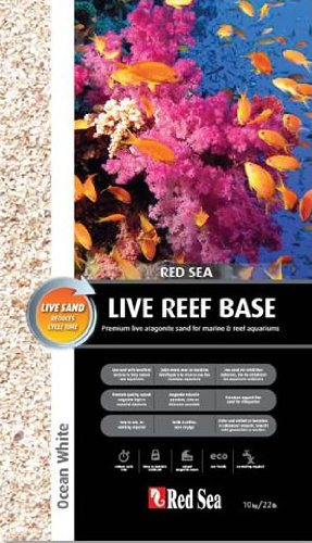 Red Sea RS Ocean White Live Aragonite Sand 10kg Aquariensand (Sand Reef Live)