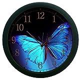 meSleep Butterfly 3D Wall Clock (With Gl...