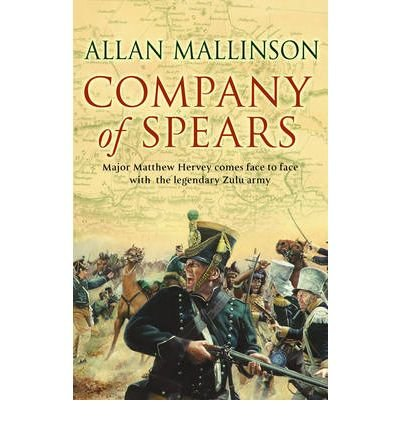 Portada del libro [(Company of Spears: (Matthew Hervey Book 8))] [ By (author) Allan Mallinson ] [May, 2007]