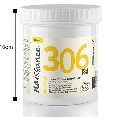 Shea Butter Unrefined Certified Organic - 100% Pure - 250g