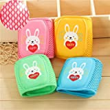 4 Pairs Baby Knee Pads for Crawling - Cute Adjustable Breathable Infant Toddler Crawling Pads Anti-Slip and Protect…