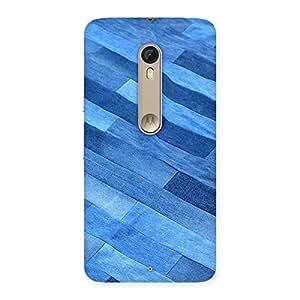 Denim Sheet Print Back Case Cover for Motorola Moto X Style