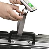 Luggage Scale, LEOKOR Hand Scales with Tape Measure for Travel Baggage Weight (Black)