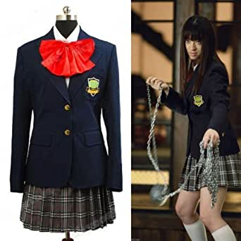 Kill Bill Gogo Yubari Uniforme Cosplay Costume Déguisement - *Sur Mesure*