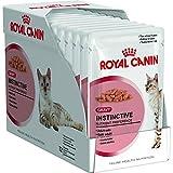 Royal Canin Instinctive Sauce Multipack, Katzenfutter - 12 x 85g Portionsbeutel