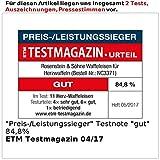 Rosenstein & Söhne Waffeleisen für Herzwaffeln - 6