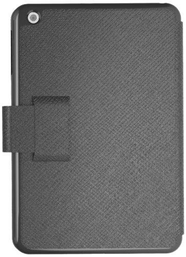 Gosh Bücherregal 100 Schutzhülle aus Leder für iPad Air, Schwarz