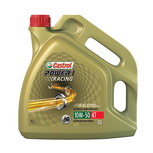 Castrol Power Synthetic 58.904 1 Racing 4T Olio motore SAE 10W-50, 4 lit