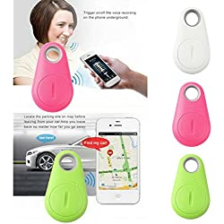 Generix Wireless Bluetooth 4.0 Anti-Theft Alarm Device Tracker/GPS Locator/Remote Shutter & Recording (Multi-colour)
