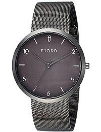 Fjord Analog Grey Dial Men's Watch- FJ-3027-44