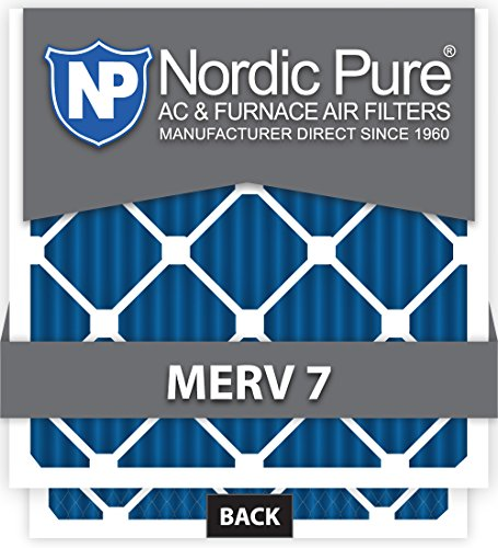 Ofen-filter 20x16x1 (Nordic Pure 10 x 16 x 1customm7–12 Merv 7 AC Ofen Filter, 12 Stück)